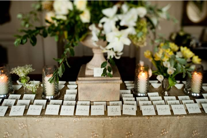 Our Wedding Card Table Flowers Designs