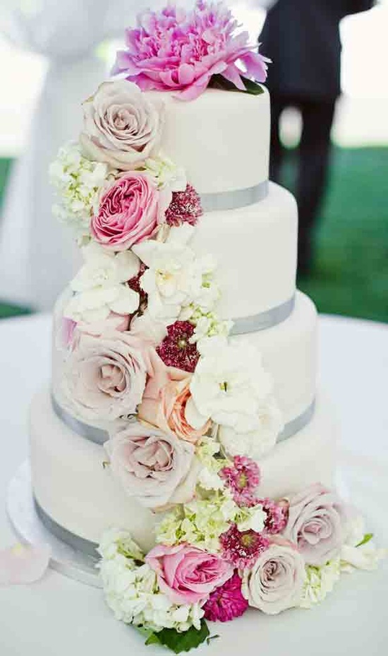 wedding cakes decorated with flowers wedding flowers boutonnieres corsages cranford 24156